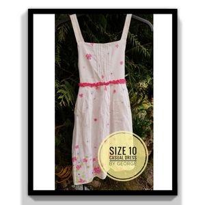 Size 10 - Little Girls Floral Dress